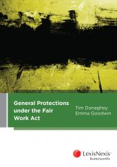 General Protections Under the Fair Work Act (eBook) cover