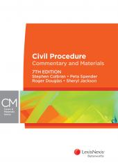 Civil Procedure: Commentary and Materials, 7th edition (eBook) cover