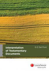 Interpretation of Testamentary Documents cover