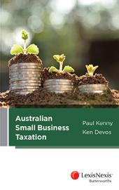 Australian Small Business Taxation (eBook) cover