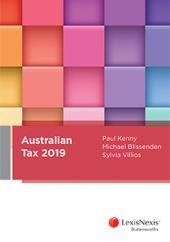 Australian Tax 2019 cover