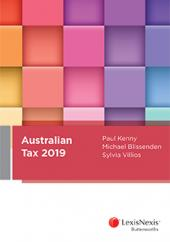 Australian Tax 2019 (eBook) cover