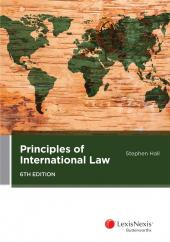 Principles of International Law, 6th edition cover