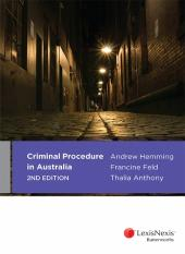 Criminal Procedure in Australia, 2nd edition cover