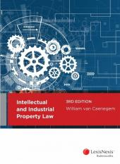 Intellectual and Industrial Property Law, 3rd edition cover