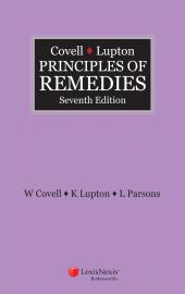 Covell & Lupton Principles of Remedies, 7th edition (eBook) cover