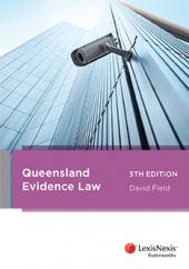 Queensland Evidence Law, 5th edition cover
