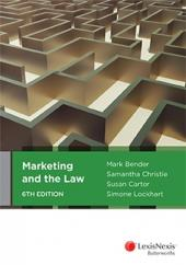 Marketing and the Law, 6th edition (eBook) cover