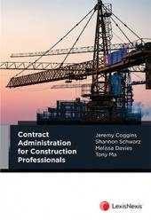 Contract Administration for Construction Professionals cover