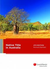 Native Title in Australia, 4th edition cover