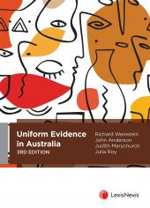Uniform Evidence in Australia, 3rd edition (eBook) cover