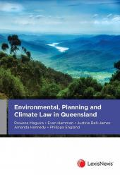 Environmental, Planning and Climate Law in Queensland cover