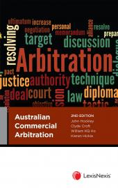 Australian Commercial Arbitration, 2nd edition cover