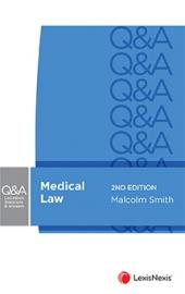 LexisNexis Questions and Answers: Medical Law, 2nd edition cover