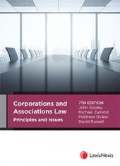 Corporations and Associations Law Principles and Issues, 7th edition cover