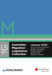 Australian Migration Legislation Collection, January 2020 cover