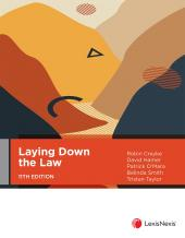 Laying Down the Law, 11th edition cover