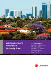 Sackville & Neave Australian Property Law, 11th edition cover