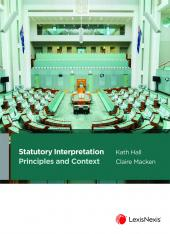 Statutory Interpretation: Principles and Context cover