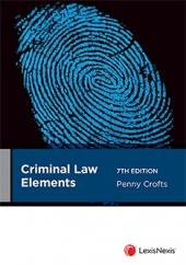 Criminal Law Elements, 7th edition cover