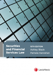 Securities and Financial Services Law, 10th edition cover