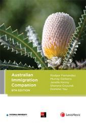 Australian Immigration Companion, 9th edition cover