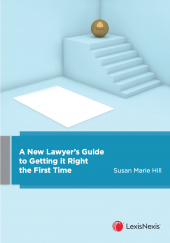 A New Lawyer's Guide to Getting it Right the First Time cover
