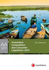 Annotated Competition and Consumer Legislation, 2021 edition cover