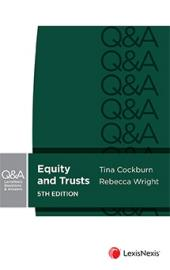 LexisNexis Questions and Answers: Equity and Trusts, 5th edition cover
