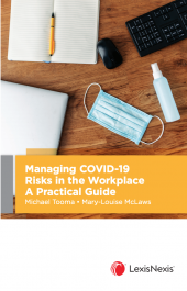 Managing COVID-19 Risks in the Workplace: A Practical Guide cover