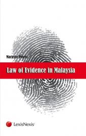 Law of Evidence in Malaysia cover