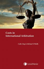 Costs in International Arbitration cover