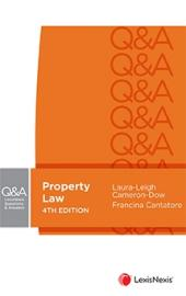 LexisNexis Questions and Answers: Property Law, 4th edition, (eBook) cover