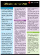 Quick Reference Card: Contract Law II. 3rd edition cover