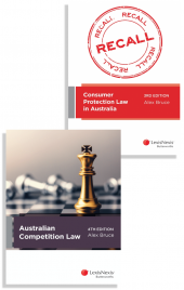 Consumer Protection Law in Australia, 3rd edition and Australian Competition Law, 4th edition (Bundle) cover