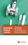 Australian Medical Liability, 4th edition cover