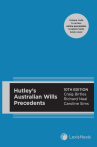Hutley's Australian Wills Precedents, 10th edition cover