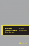 Australian Personal Property Securities Law, 3rd edition cover